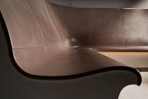 steam room ergonomic benches