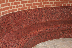 Rustic red brick